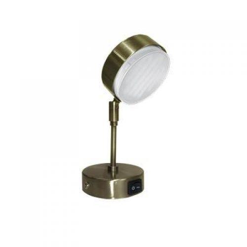 Светильник Ecola GX53 FT4173, поворотный, на среднем кронштейне, арт. FN5341ECB, Черненая бронза