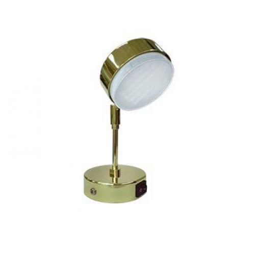 РАСПРОДАЖА Светильник Ecola GX53 FT4173, поворотный на среднем кронштейне, Золото, арт. FG5341ECB
