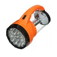 Фонарь Облик 6008 кемпинговый, 19 + 24 LED, 2 режима, оранжевый, пластик