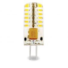 Лампа светодиодная Включай PREMIUM G4 220V 4W WW SL 6000K AC/DC силикон 13х37 1008046
