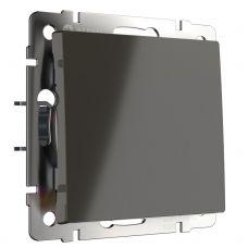 Выключатель одноклавишный (серо коричневый), артикул WL07 SW 1G, Werkel