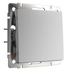 Выключатель одноклавишный (серебряный), артикул WL06 SW 1G, Werkel