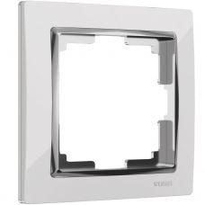 Рамка на 1 пост (белый), артикул WL03 Frame 01 white, Werkel