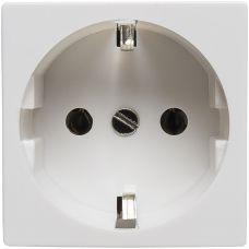200001 Розетка электрическая 2К+З (белый)