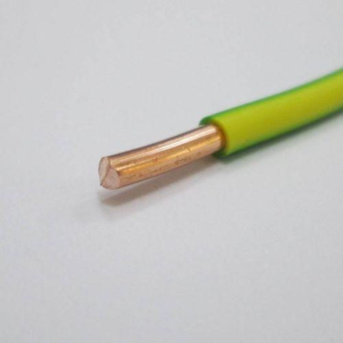 Провод силовой ПуВнг(А) LS 1х2,5 мм², желто зеленый