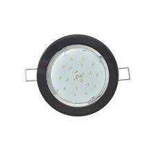 Светильник встраиваемый Ecola GX53 DGX5315, FB53EFECD, чёрный легкий