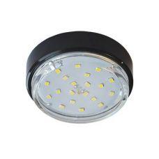 Светильник Ecola GX53 DGX5318, накладной, Легкий Черный, арт. FB53FFECD