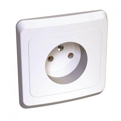 Розетка без з/к, СУ, 16А, белая, ЭТЮД, арт. PC16 001B, Schneider Electric