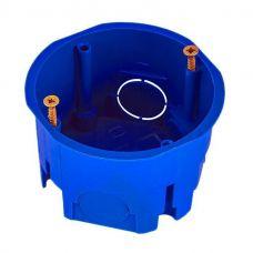 Коробка установочная для СП D68х45 мм, синяя, бетон, С3M2, GUSI Electric