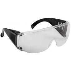 Очки защитные с дужками прозрачные, 12219, FIT