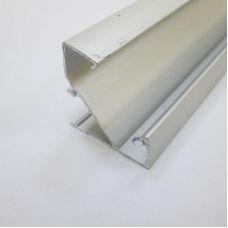 Профиль алюминиевый LC LPU 3333 2 для светодиодной ленты, угловой, накладной, Ledcraft