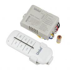 Пульт управления светом UCH P005 G3 1000W 30M, 30 м, 1 приемник, 3 канала, Uniel