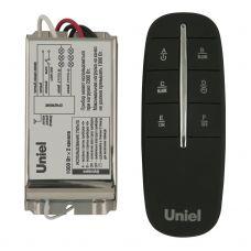 Пульт управления светом UCH P002 G2 1000W 30M, 30 м, 1 приемник, 2 канала, таймер, Uniel