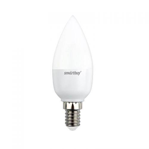 Лампа SBL C37 07 40K E14, 7 Вт, 4000 К, Е14, 500 лм, матовая, 230 В, Smartbuy