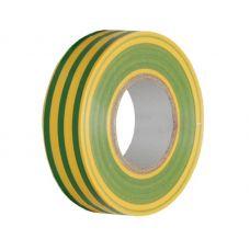 Изолента ПВХ ISOFLEX 19/20, желто зеленая, F1924
