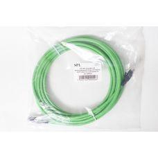 500016 Коммутационный шнур категории 6, U/UTP, оболочка LSZH, длина 5M