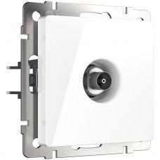 ТВ розетка оконечная (белая) W1183001