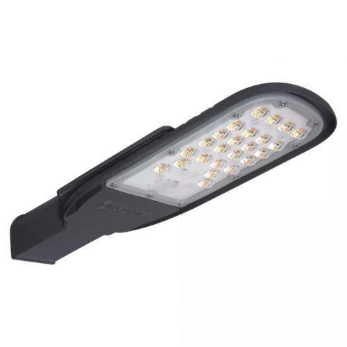 Светильник светодиодный уличный LEDVANCE ECO CLASS AREA 60W 4000K GR ДКУ 7200Лм IP66 линза, серый корпус, арт. 4058075272866